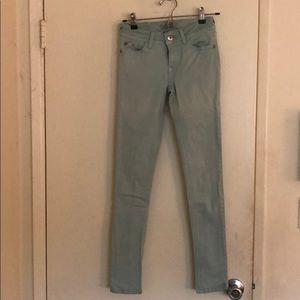 DL1961 blue skinny jeans